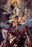 Sir Pieter-Paul Rubens; Assumption of the Devine and Holy Virgin Mary.jpg
