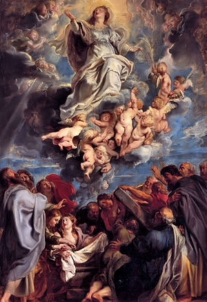 Rubens Assumption of the Virgin, 17th century