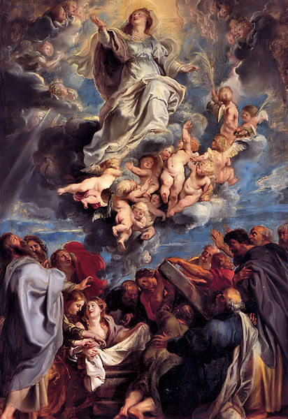 Bestand:Sir Pieter-Paul Rubens; Assumption of the Devine and Holy Virgin Mary.jpg