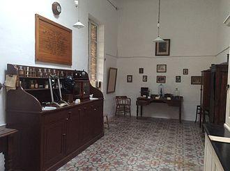 Castellania (Valletta) - The Brucellosis Museum within the Castellania