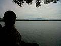 Siska Yuniati at Lake Dendam Tak Sudah.jpg