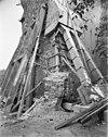 situatie aan de voet van de toren tijdens restauratie - bedum - 20028691 - rce