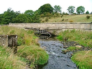 Skew arch - Swin Bridge over the River Gaunless