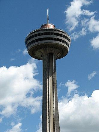 Skylon Tower - Image: Skylon Tower Top
