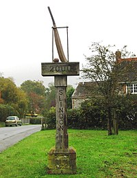 Slindon Cricket Sign - geograph.org.uk - 2680307.jpg