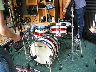 Slingerland Drum Company - A Slingerland drum kit.