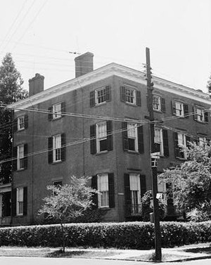 Slover-Bradham House - Slover House, HABS Photo, 1937
