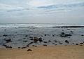 Small beach rocks at Rushikonda.JPG