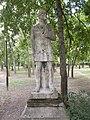 Soldier statue. - Orczy garden, Budapest District VIII.JPG
