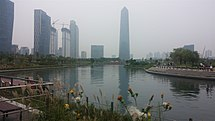 Songdo Convensia and Central Park View.jpg