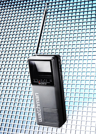 Sony Watchman - Sony FD-10 Pocket Watchman