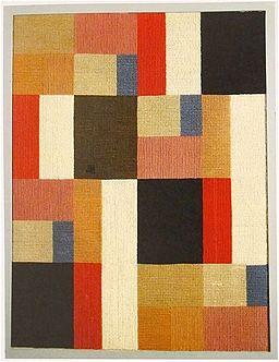 Sophie Taeuber-Arp Kompozycja pionowo-pozioma, 1916