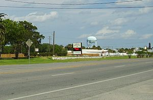 South Houston, Texas - Marker for the city of South Houston