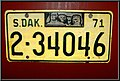 South Dakota 1971 license plate.jpg