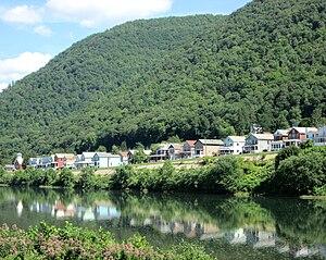 South Renovo, Pennsylvania - South Renovo and the West Branch Susquehanna River