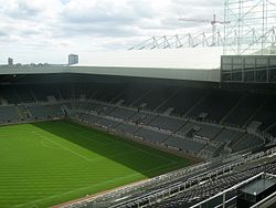 St James' Park in 2007.