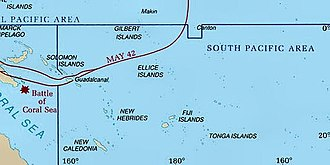 United States Army Air Forces in the South Pacific Area - Image: South pacific ww II