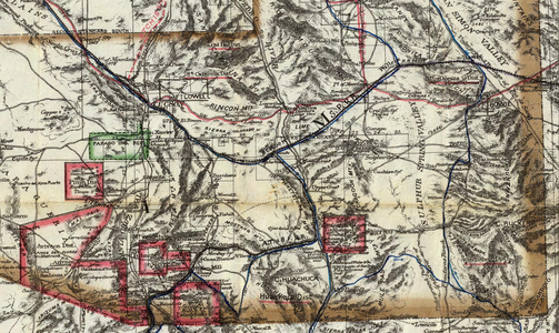 Southeast Cochise County 1880