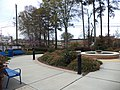 Southern Crescent Technical College fountain area.JPG