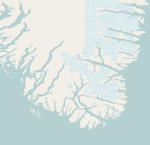 Aappilattoq is located in the Southern tip of Greenland