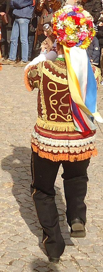 "Venaus - One of the four traditional spadonari during ""sword dance"""