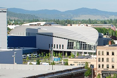 How to get to Spokane Convention Center in Spokane by Bus