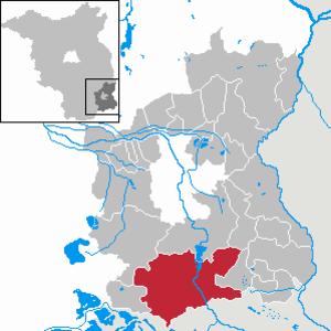 Spremberg - Image: Spremberg in SPN