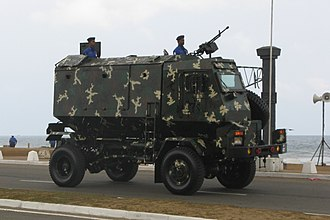 Sri Lanka Navy - Sri Lanka Navy Unicorn MRAP