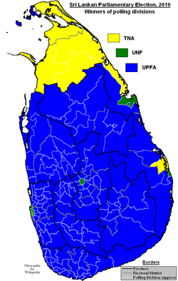 Sri Lankan Parliamentary Election 2010.png