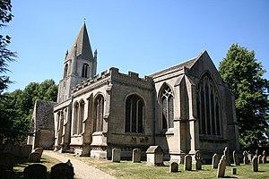 St John the Baptist's Church, Barnack - Image: St.John the Baptist's church, Barnack geograph.org.uk 204111