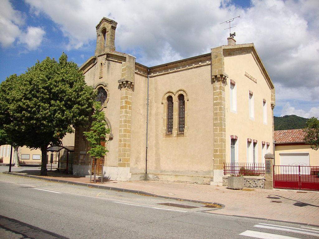 St.Julien-en-Saint-Alban (Ardèche, Fr) temple-école.JPG