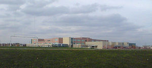 St. Aloysius Gonzaga Secondary School - Distant Photo Including Building and Field