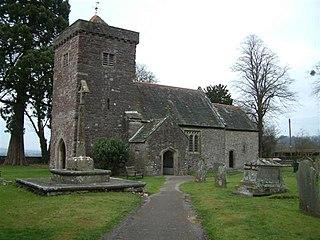 Tredunnock village in United Kingdom