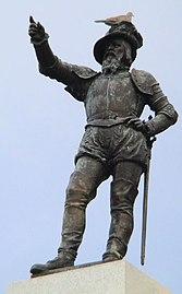 St. Augustine (Florida)-Juan Ponce de Leon monument