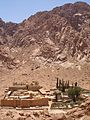St. Catherine Monastery - Surrounding Mountains - panoramio.jpg