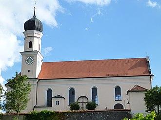 Allmannshofen - Church in Allmannshofen