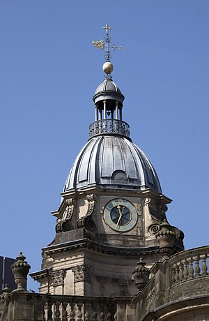 St Philip's Cathedral, Birmingham - The dome of the western tower