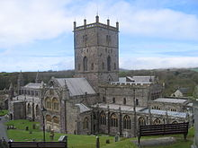 St David's Cathedral, current day, restored to its 1181 appearance.