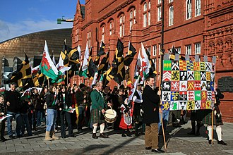 Saint David's Day - Saint David's Day celebrations, Cardiff Bay, 2008