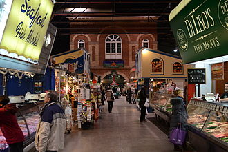 St. Lawrence Market - Interior of the south market