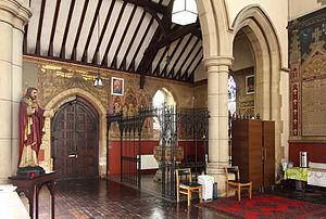 St Andrew, Stoke Newington - Baptistery
