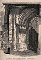 St Bartholomew the Great, London; the western entrance, in a Wellcome V0013141.jpg