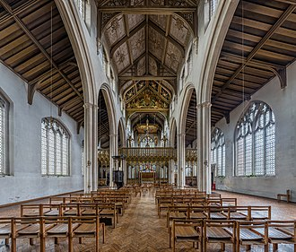 St Cyprian's, Clarence Gate - Image: St Cyprian's Church Nave, Clarence Gate, London, UK Diliff
