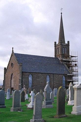 St Cyrus - Image: St Cyrus Church Montrose