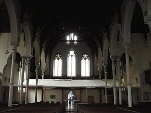 St Jude's Church, Kensington - Image: St Jude Courtfield Gdns Interior 2009