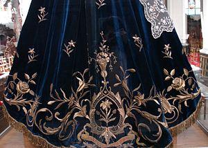 Goldwork (embroidery) - Goldwork, 19th century