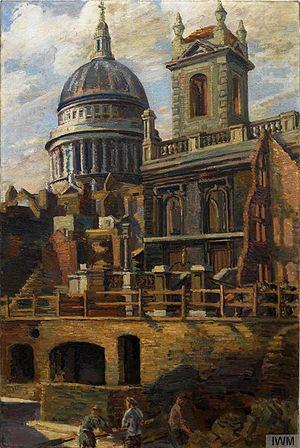 Duncan Grant - St Paul's 1941 (Imperial War Museum)