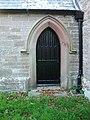 St Paul's Church, Causewayhead, Doorway - geograph.org.uk - 600851.jpg