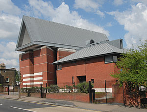 St Paul's Church, Harringay - St Paul's Church, Harringay, as seen in June 2007