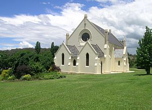 Walcha, New South Wales - The Register of the National Estate listed, St Paul's Presbyterian Church, Walcha, NSW